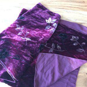 Velvet Silk Scarf